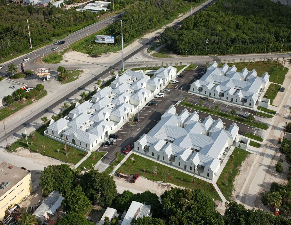Blue Water Workforce Housing Aerial