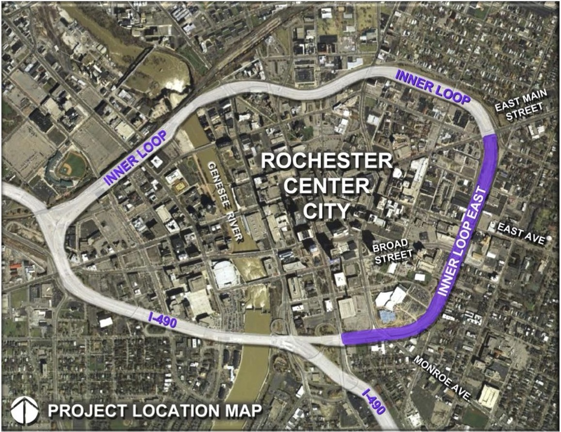 Rochester Inner Loop East Project