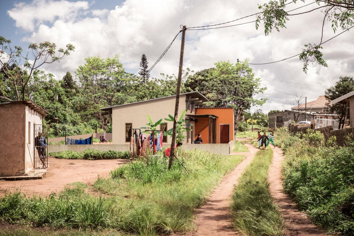 Ubuntu in Umbumbulu eThekwini house