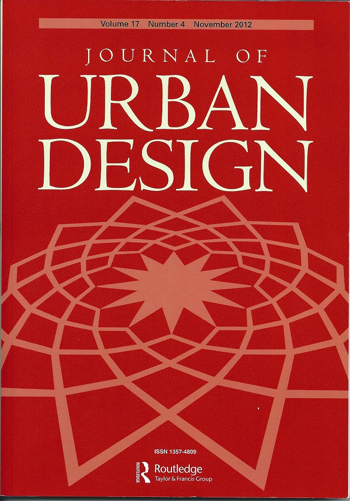 Journal of Urban Design Special Issue Transect Duany
