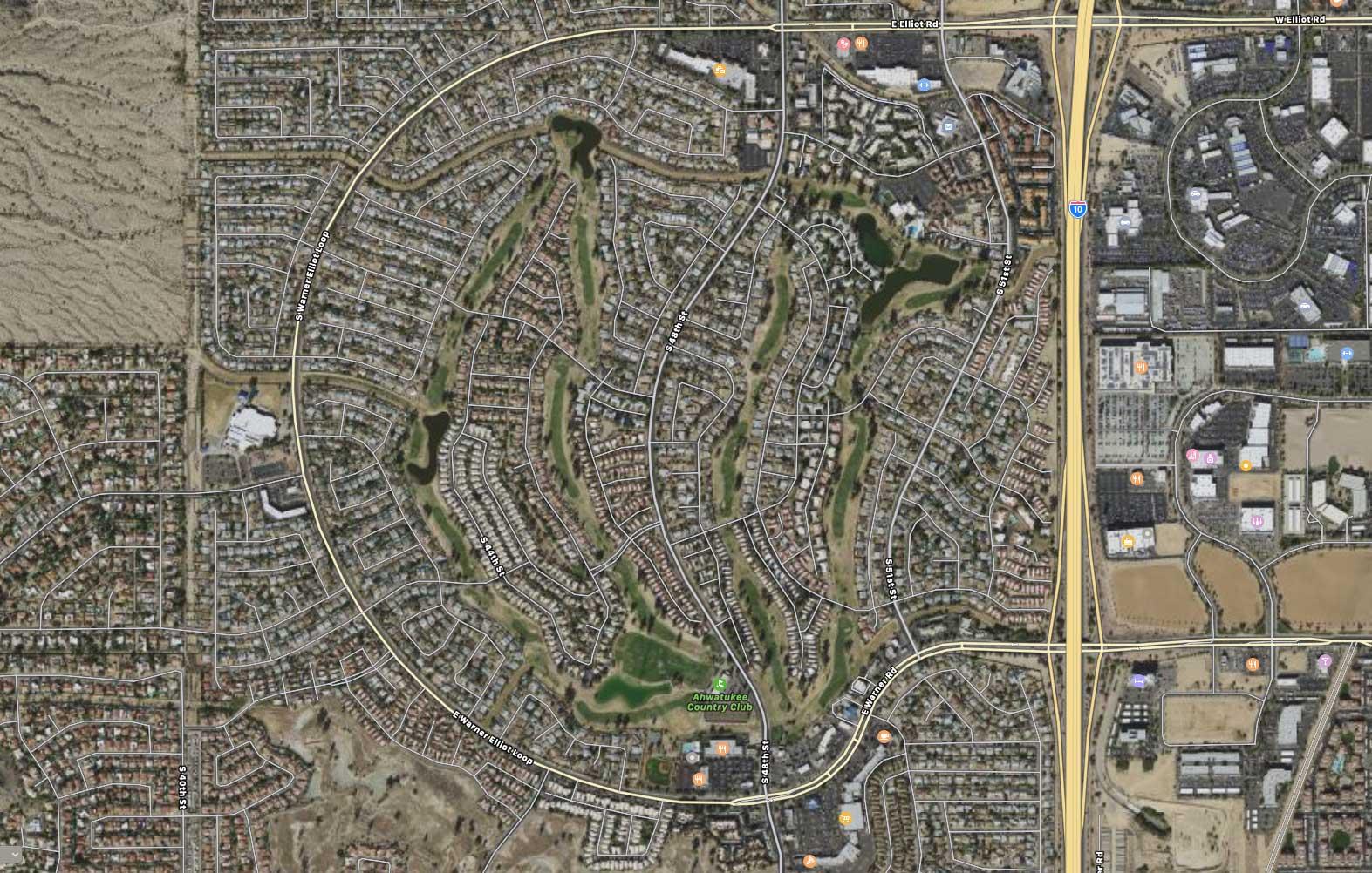 Failing golf communities not on par with neighborhoods