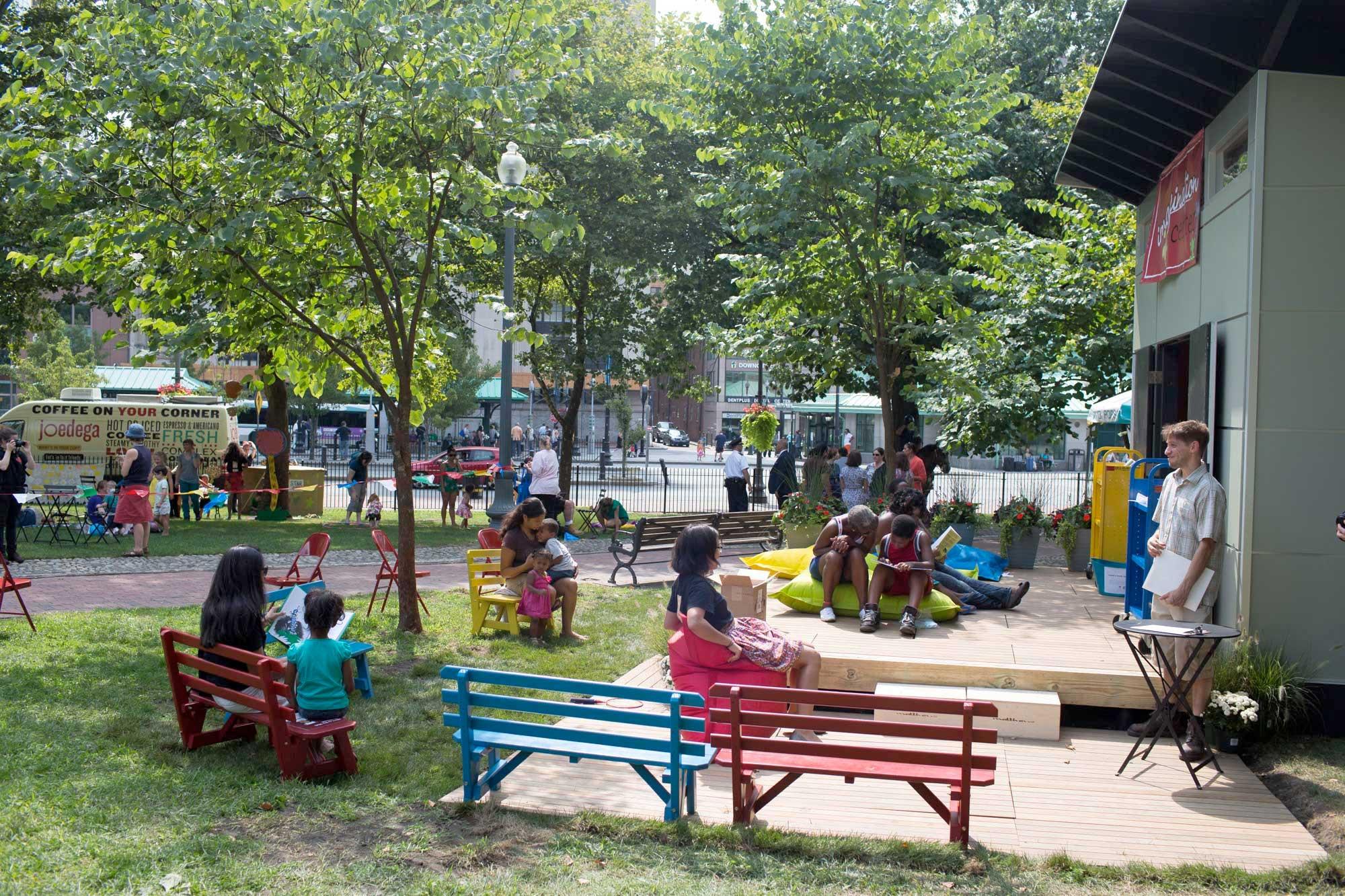 Ten reasons to build community through urban design