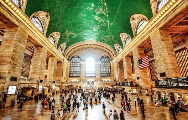 Grand Central Terminal, NYC, 2012 by Sracer357 on Wikimedia