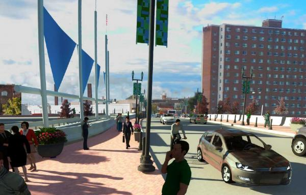 Article image for Providence freeway has a future