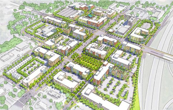 Article image for Transforming a suburban commercial strip corridor