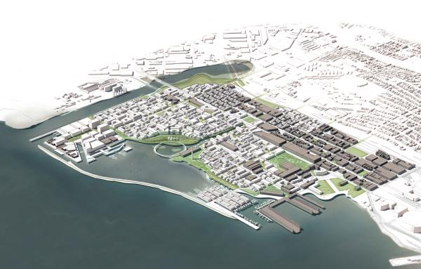 Article image for A mixed-use plan for former industrial waterfront