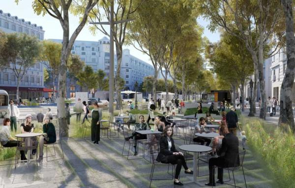 Article image for Champs-Elysees transformation going forward
