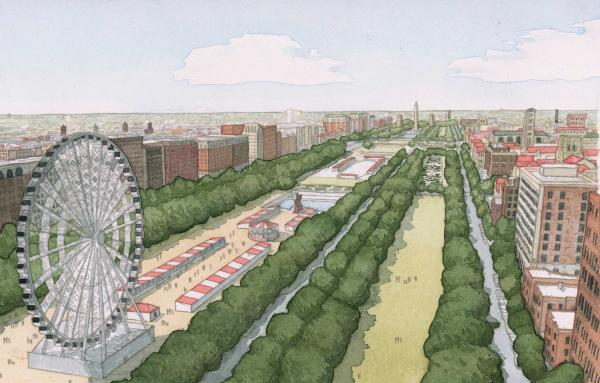Article image for Powerful public space to knit Chicago's South Side