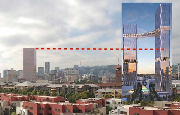 Article image for Towering madness in Portland