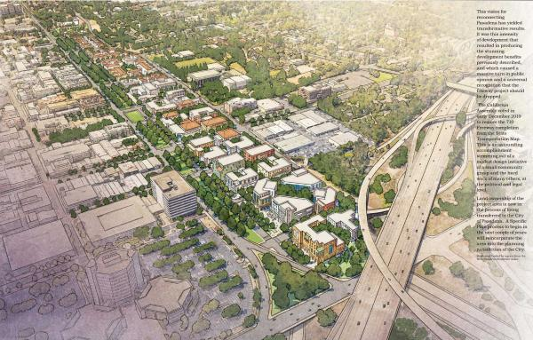 Article image for Urban development plan stops freeway
