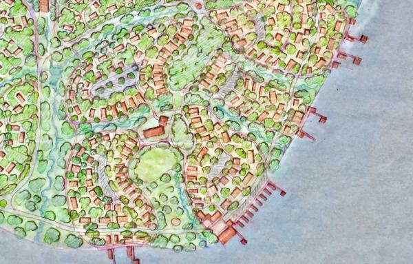Article image for Retreats, eco-villages, and walkable communities