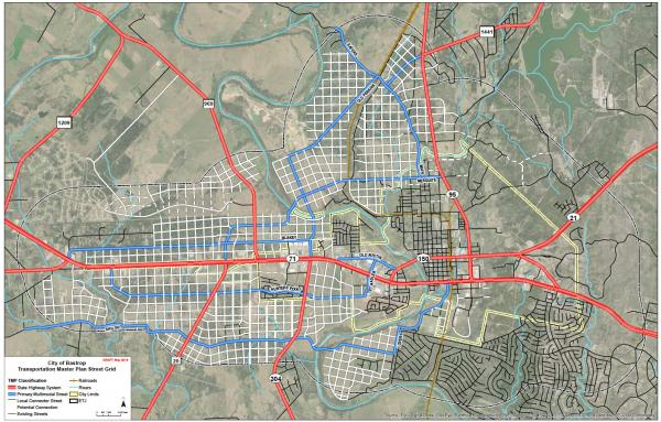 Article image for Texas city adopts street grid and code