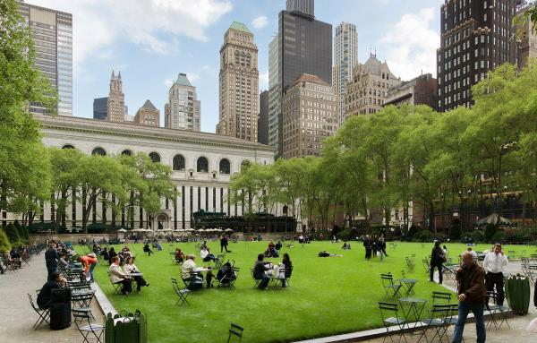 Article image for How a Manhattan park pioneered Main Street placemaking