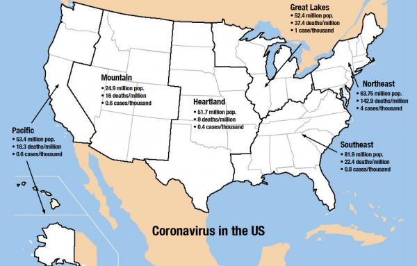 Article image for State of Coronavirus in America, update