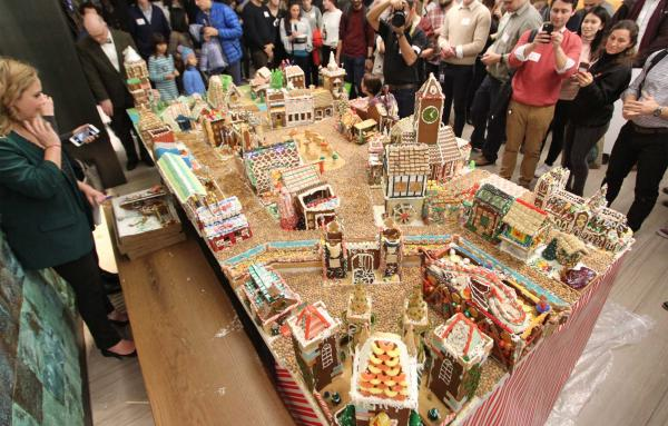 Article image for Gingerbread villages feel right for the holidays