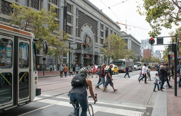 Article image for San Francisco makes downtown artery car-free