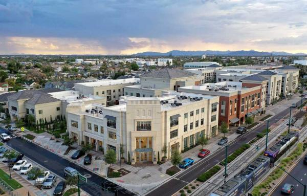 Article image for Biggest suburb gets a new downtown as walkable becomes legal