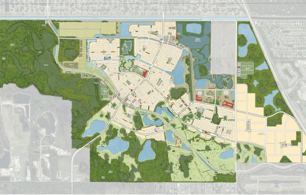 Article image for Design for new town deals with climate change