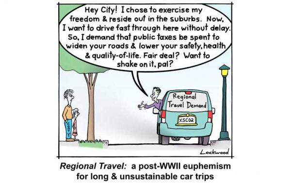 Article image for Regional travel demand: A euphemism for unsustainable car trips