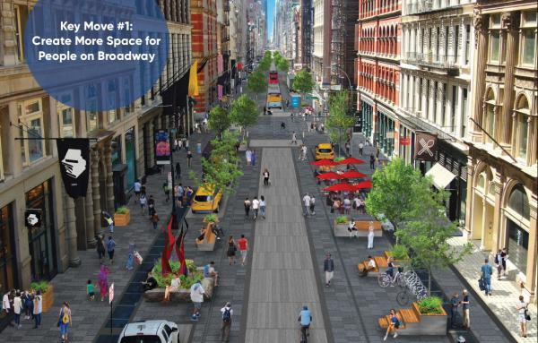Article image for Plan would transform SoHo streetscapes