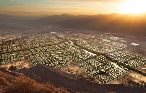 Article image for A gridded city of 5 million people proposed for Southwest