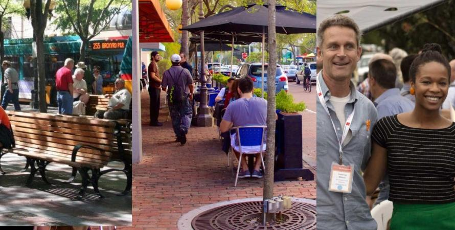 Seattle Westlake Park, South Miami Dorn Street, CNU 26 Chapter Meetup