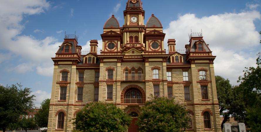 Caldwell County Courthouse in Lockhart, Texas - Photo by Stuart Seeger on Flickr