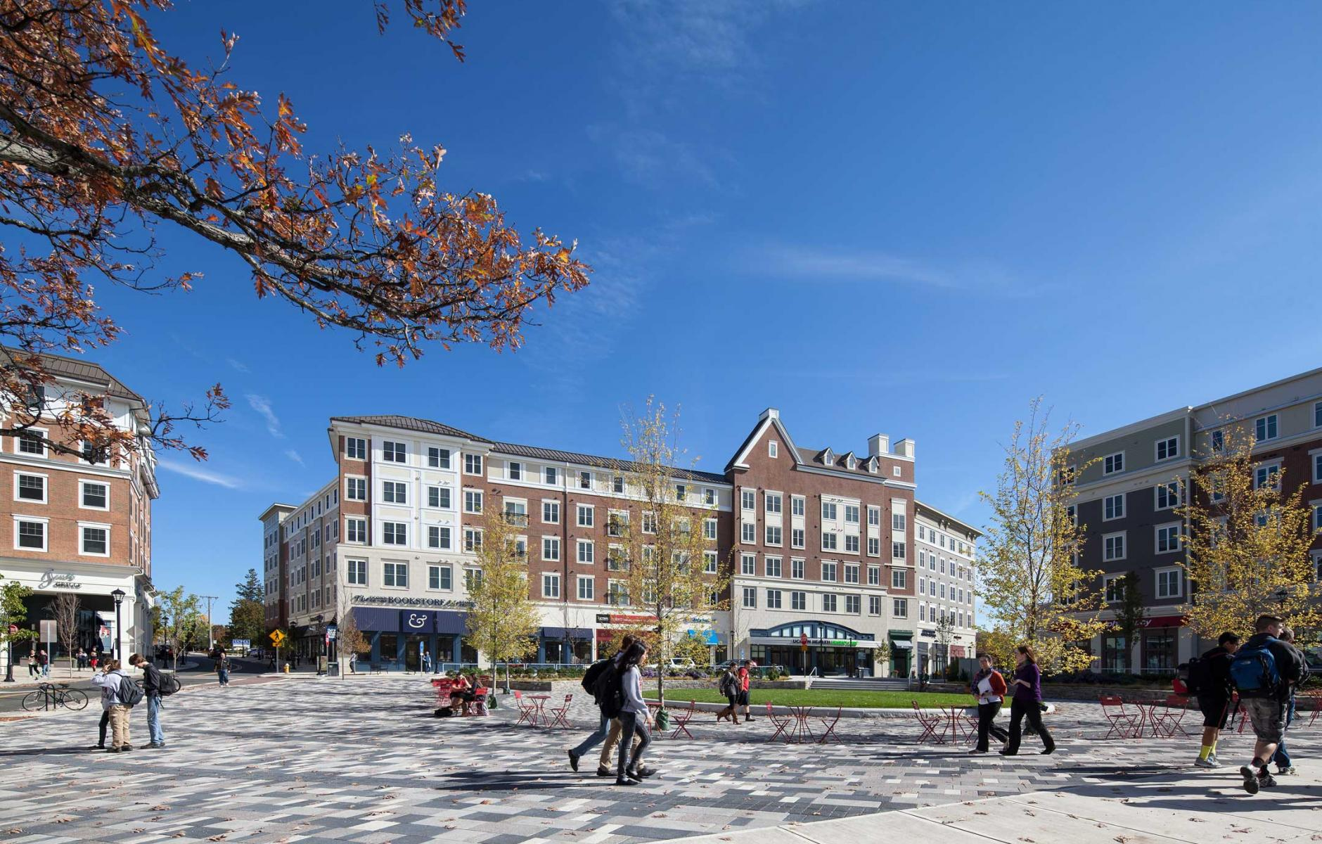 A mixed-use center for town and gown | CNU