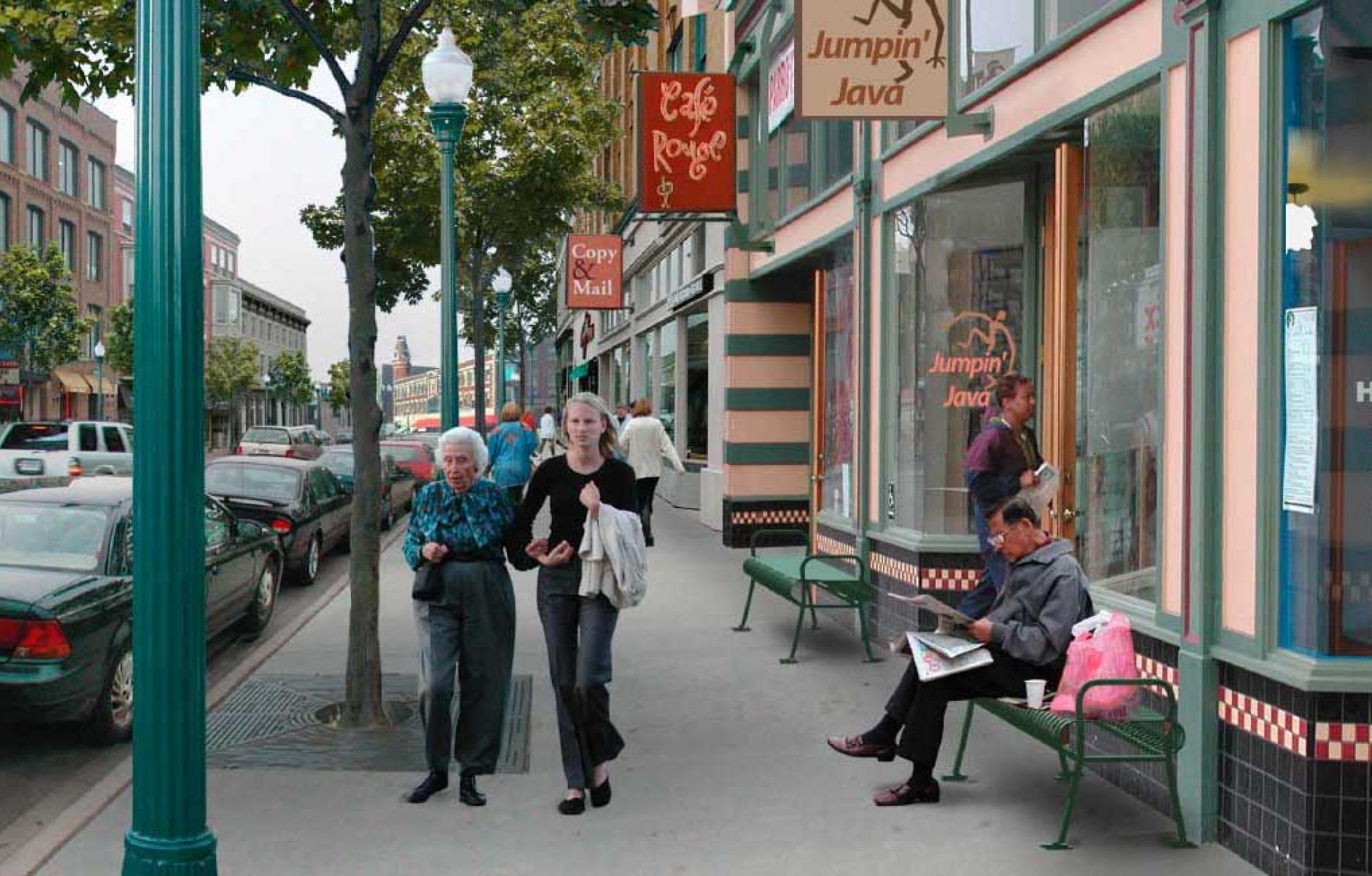 Great Idea Pedestrian Shed And The 5 Minute Walk Cnu