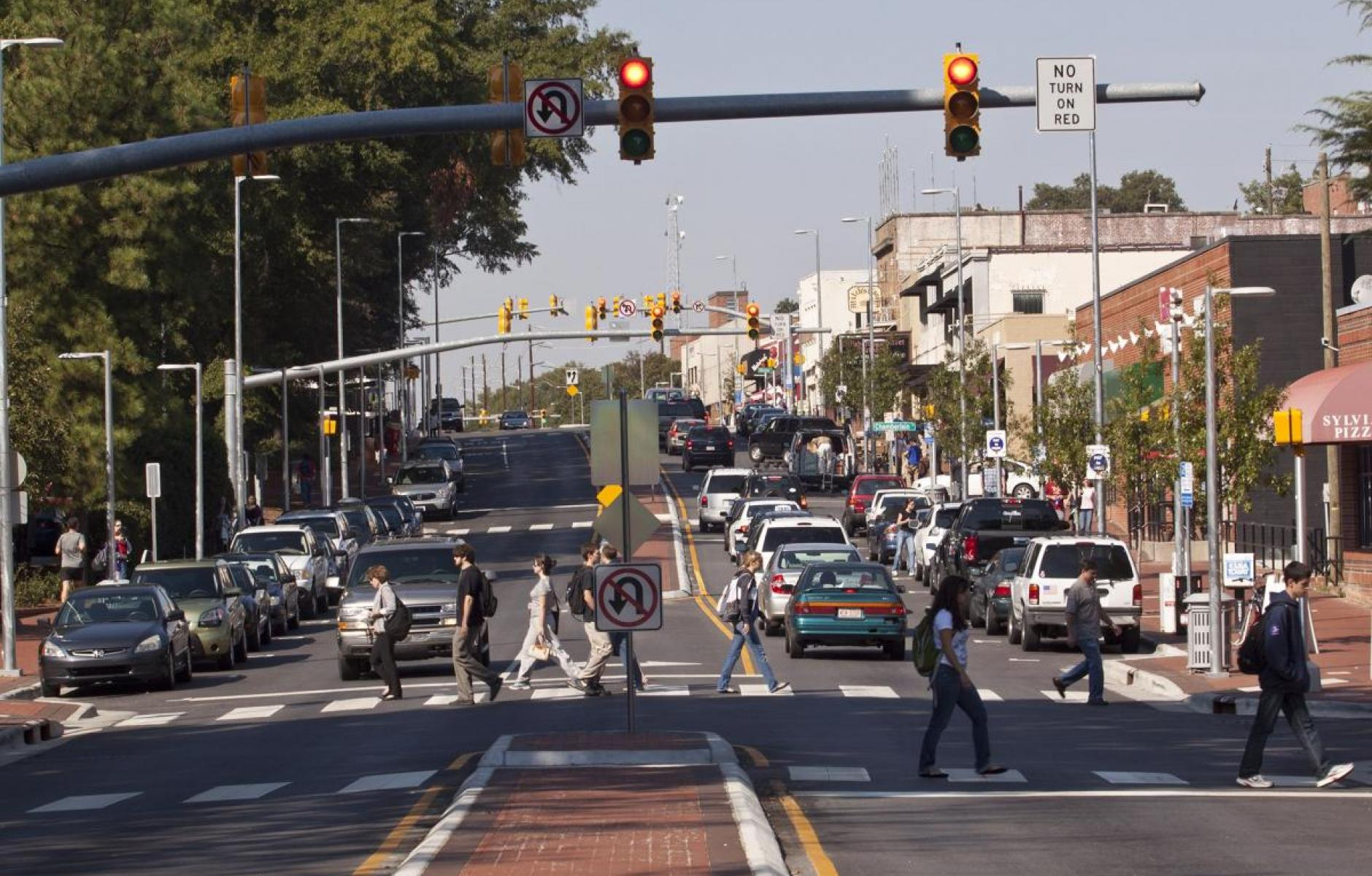 Context-based redesign solves street problems | CNU