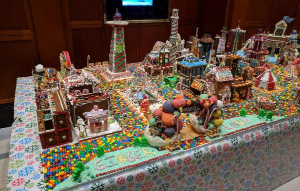 Results from a previous Gingertown,  sponsored by David M. Schwartz Architects