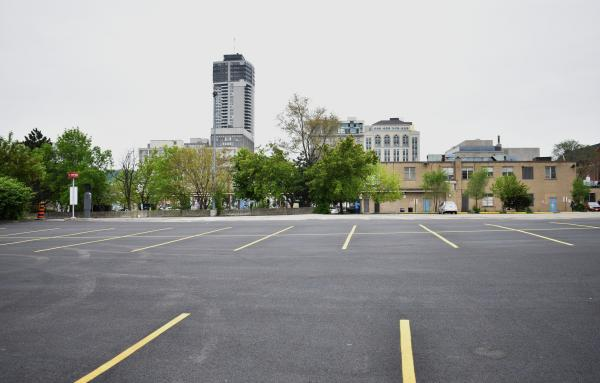 Hamilton, Canada parking lot. By Joey Coleman via Flickr. Shared under Creative Commons license
